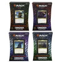 MTG: Adventures in the Forgotten Realms - Commander Decks (4) Adventures in the Forgotten Realms Wizards of the Coast