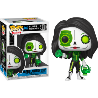 Figurka POP Heroes: Dia De Los DC - Green Lantern (Jessica Cruz) 411 Funko - DC Funko - POP!