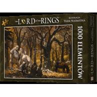 Puzzle Władca Pierścieni: Pieśń wśród Trollowych Wzgórz (1000 elementów) Fantasy Rebel