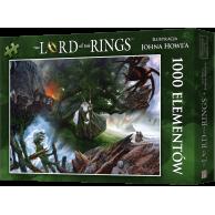 Puzzle Władca Pierścieni: Wyprawa do Mordoru (1000 elementów) Fantasy Rebel